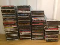 Large collection of Cd albums 120+ Rock Heavy Metal Blues