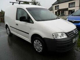 volkswagen caddy 2.0 sdi van with side door van psv 2005