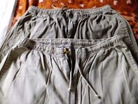 2 pair mens trousers size 36 waist