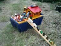 Wooden Noah's Arc