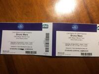 Bruno mars live o2 arena