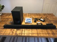 Samsung Wireless Soundbar with Wired Subwoofer