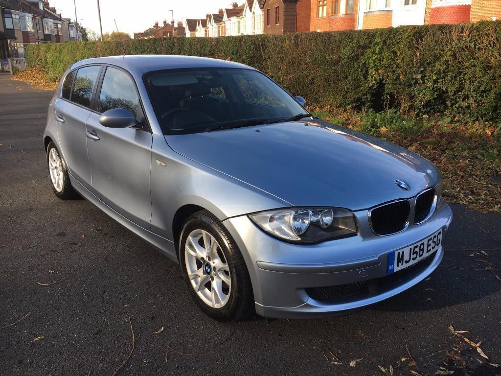 BMW 1 Series 118 ES E87 6SP DIESEL 5dr (bluewater met) 2008