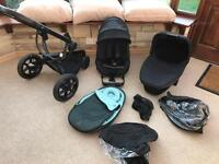 Quinny Moodd Pushchair and cotbed