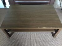 2 x Black Brown IKEA coffee tables good condition