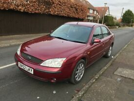 Ford Mondeo - low mileage - Long MOT