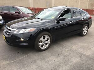 2012 Honda Crosstour EX-L, Automatic, Leather, Sunroof, AWD