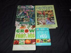 GARDENING BOOKS - FRUIT - VEG (LISTED TIL SOLD)