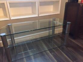 Alphason Glass Hi - Fi Unit / Table / Stand
