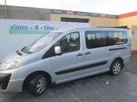 2008 expert 9 seater taxi full history long mot new clutch/flywheel timing belt no vat derry belfast