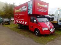 Removals Edinburgh last minute short notice cheap man and van