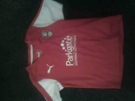 Rotherham United shirt age 4