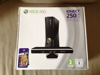 Xbox 360 250GB with 6 games