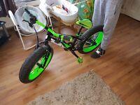 Sonic bike with fat wheels
