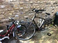 Raleigh Circa 2 Hybrid Mens Bicycle - needs repair or for parts