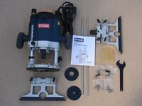 PLUNGE ROUTER - Ryobi router ½ & ¼ collet, 2100W HD Motor