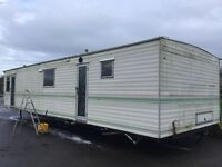35ft by 12ft static caravan for sale
