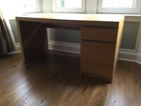 IKEA - Office Desk - Oak Effect - Great Condition