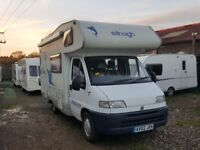 2002 Elnagh Marlin 59 5 Berth Motorhome on a Fiat Ducati Chassis 1905cc 5 Speed Manual Gearbox
