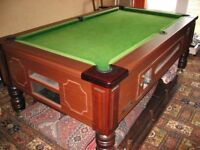 Reconditioned To A Very High Standard Superleague Traditional 7ft Pool Table