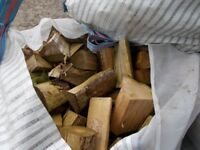Large Bags of Logs for your wood burner. ONLY £50 per bag