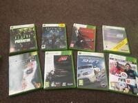 Bundle of 31 Xbox 360 games