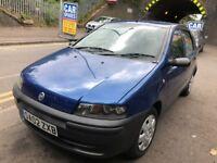 Fiat Punto 2002 1.2 petrol blue breaking for spares - wheel nut