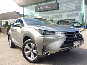 2016 Lexus NX 200t Executive Pkg Back Up AWD Leather Bluetooth