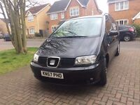 2007 SEAT Alhambra, 2.0 TDI Stylance 5dr. Diesel, AUTOMATIC, 86000 Miles, Loaded.