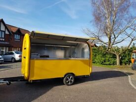 Catering Trailer Food Cart Burger Van Pizza Trailer