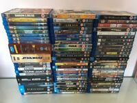Blu Ray job lot, 91 films less than £1.50 per film, ideal for carboot