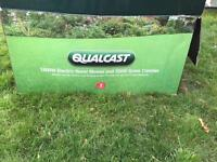 New qualcast electric mower and strimmer set