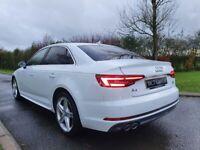 2017 Audi A4 2.0 TDI S Line 4dr, 1 OWNER, FULL AUDI BELFAST HISTORY, FREE 1 YEARS WARRANTY
