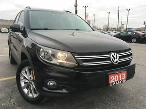 2013 Volkswagen Tiguan Comfortline, Leather, Panoramic Roof, Hea
