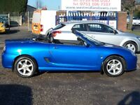 2002 MG TF SPORTS VVC 135 16V 2 DR 1.8 PETROL CONVERTIBLE