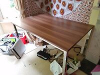 Free Desk/Dining Table - Good Condition - Needs to be gone by Tuesday 30th of May