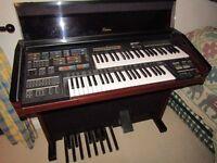 Yamaha Electone MC-600 Electronic organ and stool FREE to good home