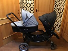 Twin Pram - Zoom O Baby - Excellent Condition
