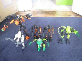 Lego Bionicle figures