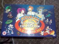 Futurama 15 disc dvd set