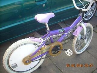 girls one off magna bmx bike