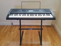 Casio CTK-3000 Electric Keyboard and Fitted Stand