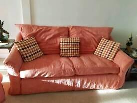 3 piece suite plus footstool