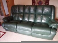 Sofa - leather 3 seater