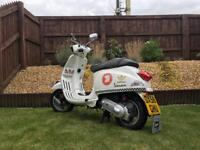 Retro2008 Vespa S 50 CC Moped - LONG MOT (No Advisories) - Retro? Mods / Rockers? Oasis ?