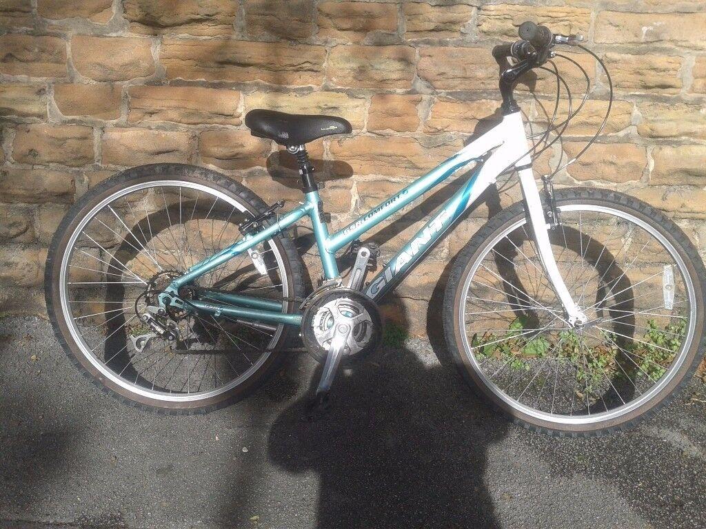 "Giant GSR Comfort Small Ladies Mountain Hybrid Road Adults Bike 14"" frame 26"" wheels"