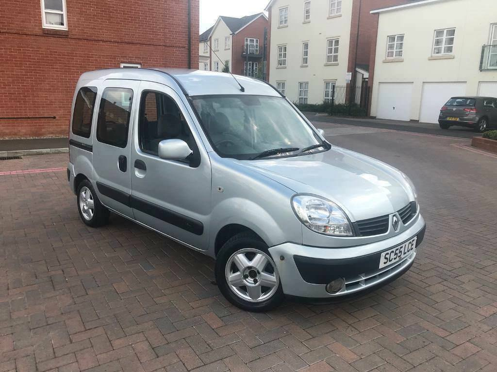 2006/55 RENAULT KANGOO 1.2 MPV YEARS MOT DRIVES VERY WELL 2 OWNERS