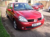 2005 Renault Clio Extreme 3 door 1.2 16v in great condition, full service history.