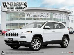 2017 Jeep Cherokee LIMITED: ONE OWNER & ACCIDENT FREE