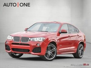 2015 BMW X4 35i TWIN TURBO l AWD l M SPORT l LOADED